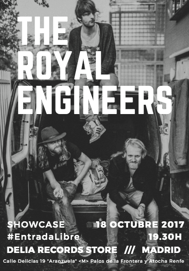 Eléctricos @ BodegaClub /// The Royal Engineers (HOLANDA)