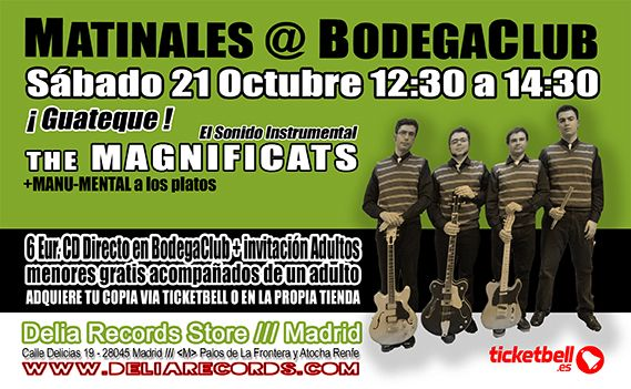 Matinales @ BodegaClub /// The Magnificats [VALLADOLID] Guateque Instrumental