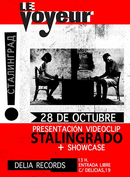Showcase @ BodegaClub /// Le Voyeur [MADRID]