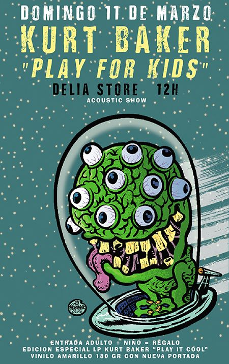 Kurt Baker Play For Kids /// Ghost Highway Recordings cumple 10 años
