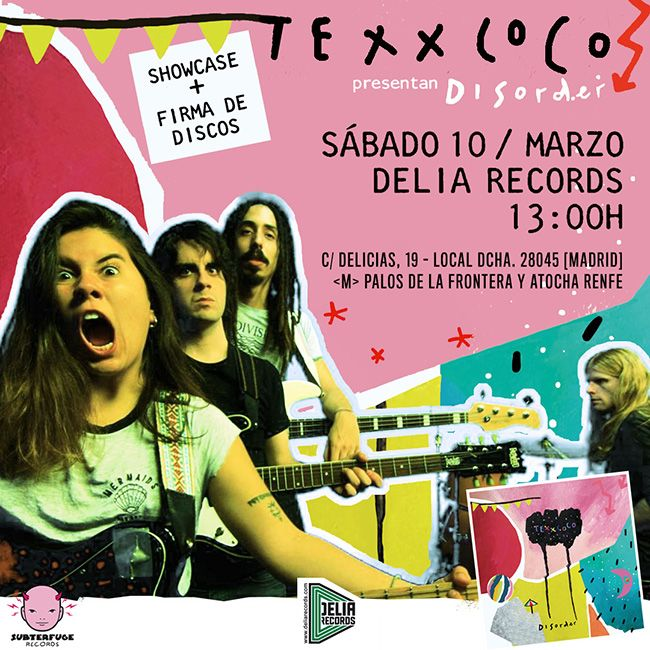 Showcase @ BodegaClub: Texxcoco [Madrid] by Subterfuge Records