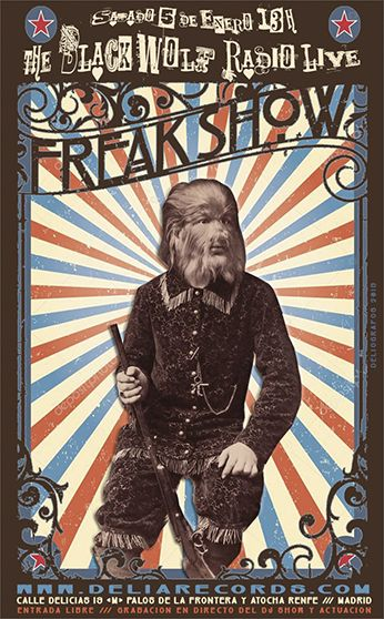 The BLACK WOLF Live Radio Freak Show