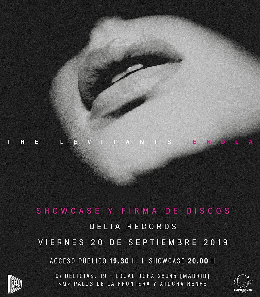 "Showcases @ BodegaClub: THE LEVIATANTS ""Enola"" by Subterfuge"