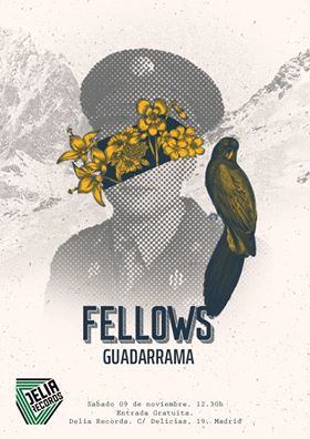 "Showcase @ Bodegaclub: FELLOWS [Valladolid] Presentan su LP ""Guadarrama"""