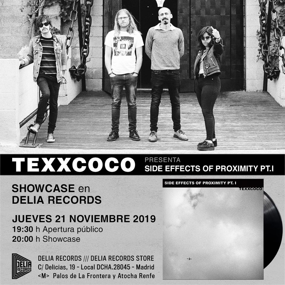"Showcases @ BodegaClub: TEXXCOCO ""Side Effects of ProximityI: Part I"" by Subterfuge"